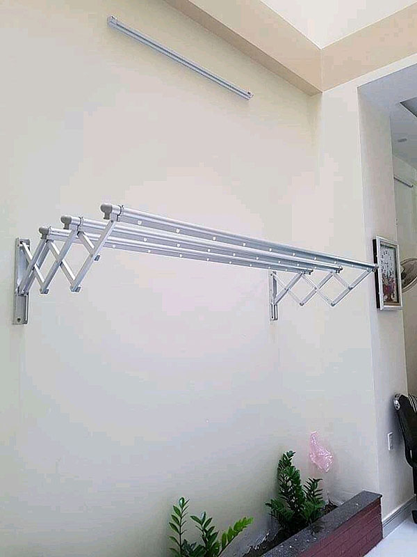 Giàn phơi gắn tường kéo ngang hòa phát HP01